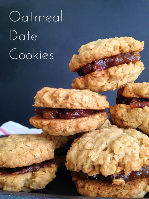 Oatmeal Date Cookies The Ruby Kitchen