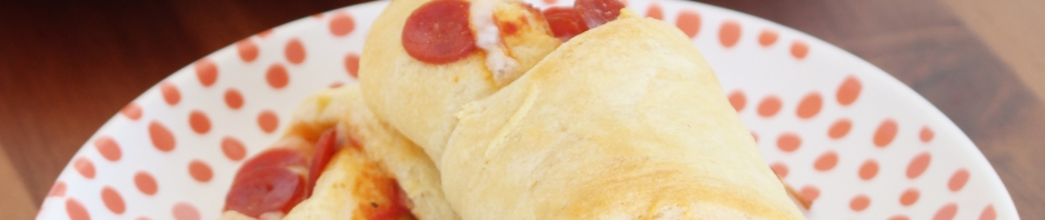 Quick & Easy Pizza Rolls from The Ruby Kitchen