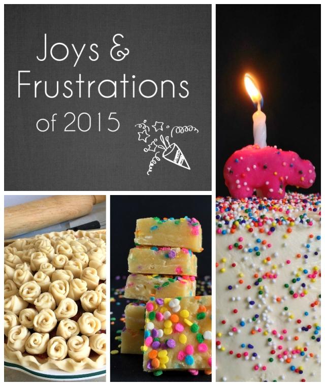 2015 Joy  Frustrations
