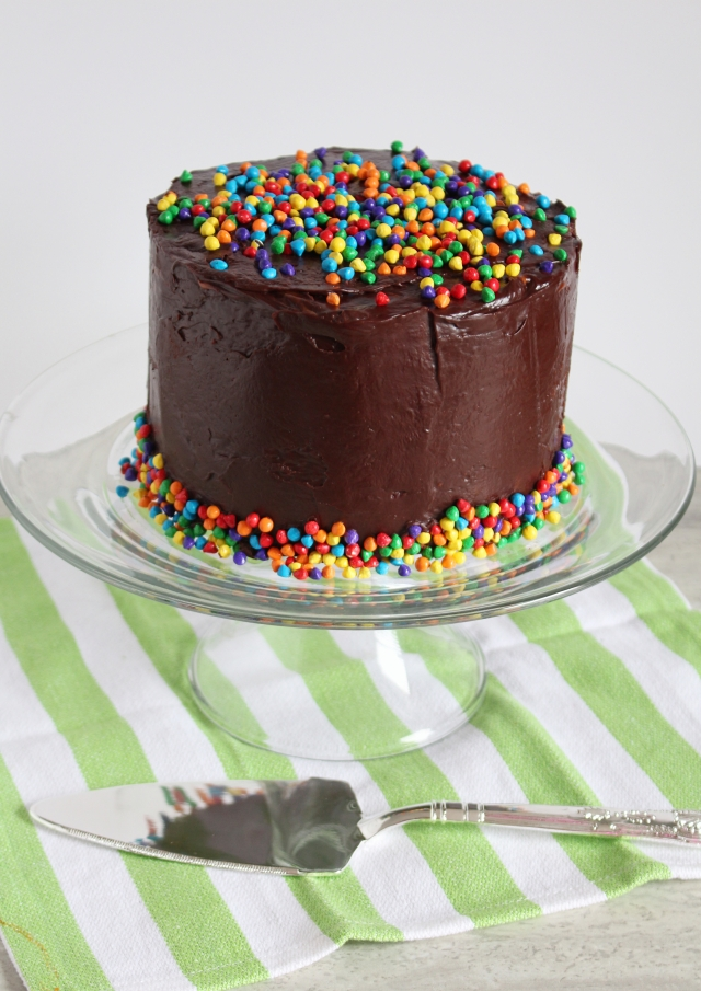 Cosmic Brownie Cake from The Ruby Kitchen