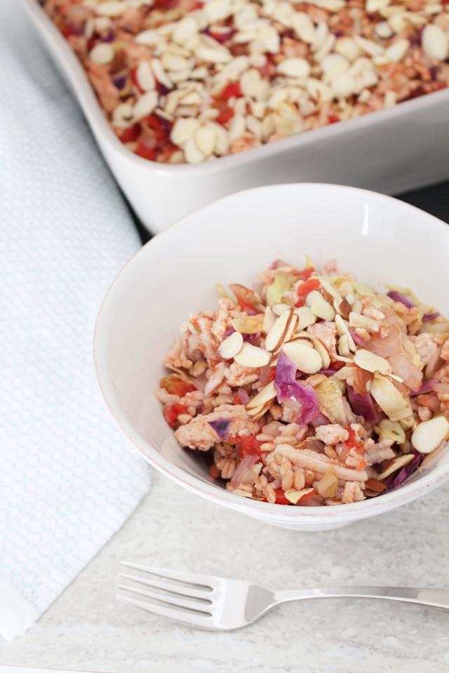 Healthy (Unstuffed) Cabbage Roll Casserole