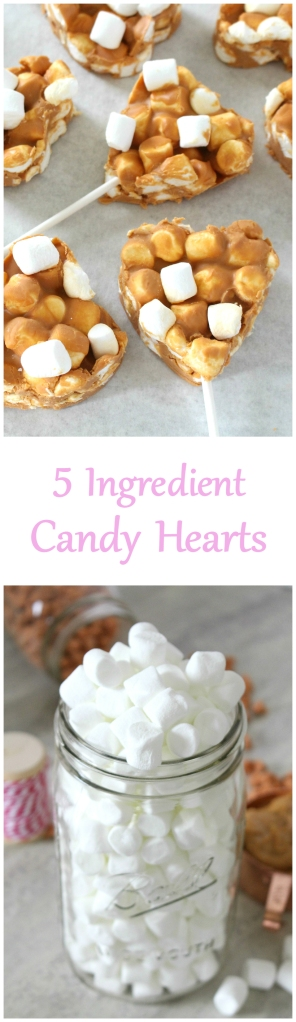 5 Ingredient Candy Hearts from The Ruby Kitchen
