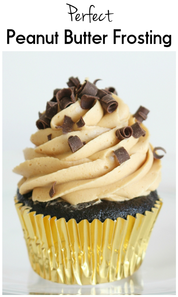 Perfect Peanut Butter Frosting from The Ruby Kitchen