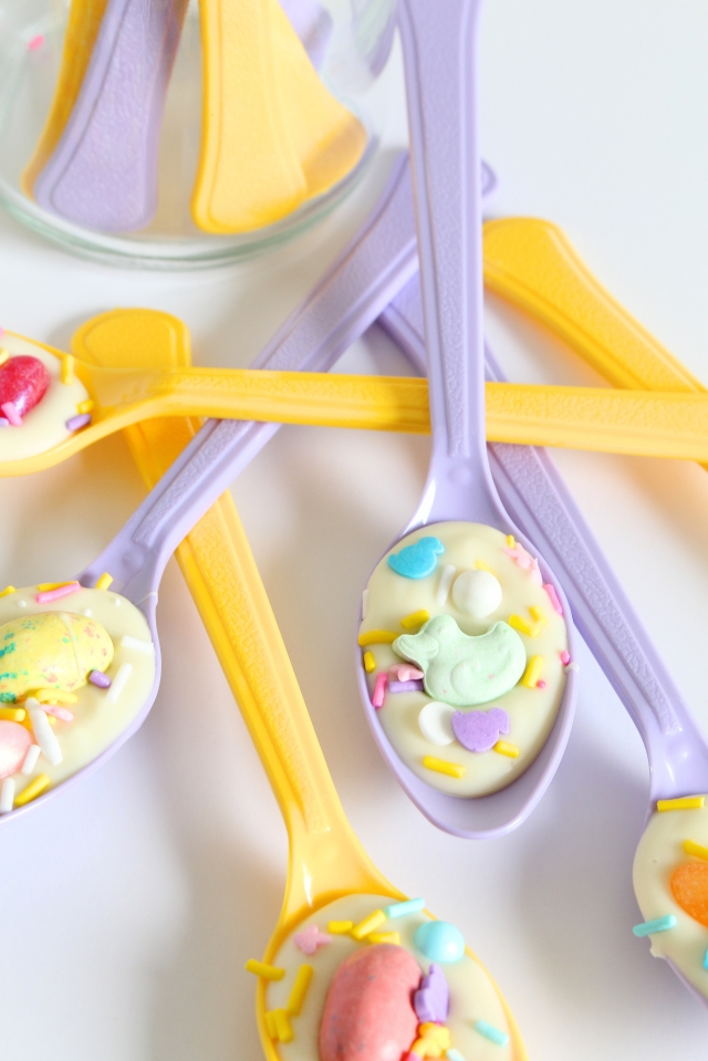 Easter Candy Spoons (and The Bunny That Got Away) from The Ruby Kitchen