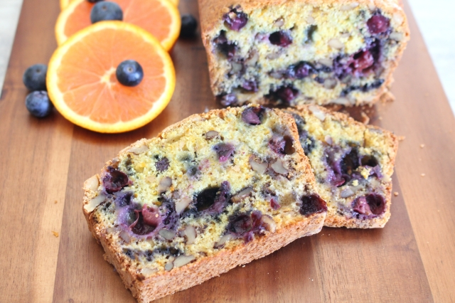 Blueberry Nut Loaf from The Ruby Kitchen