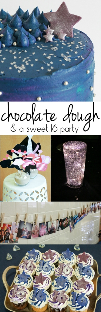 Chocolate Dough & a Sweet 16 Party from The Ruby Kitchen