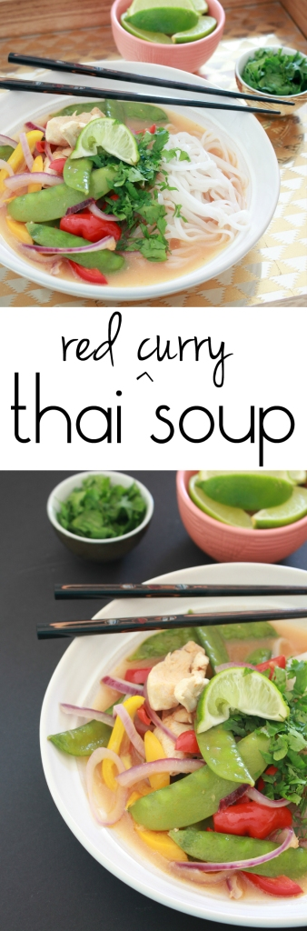 Thai Red Curry Soup from The Ruby Kitchen