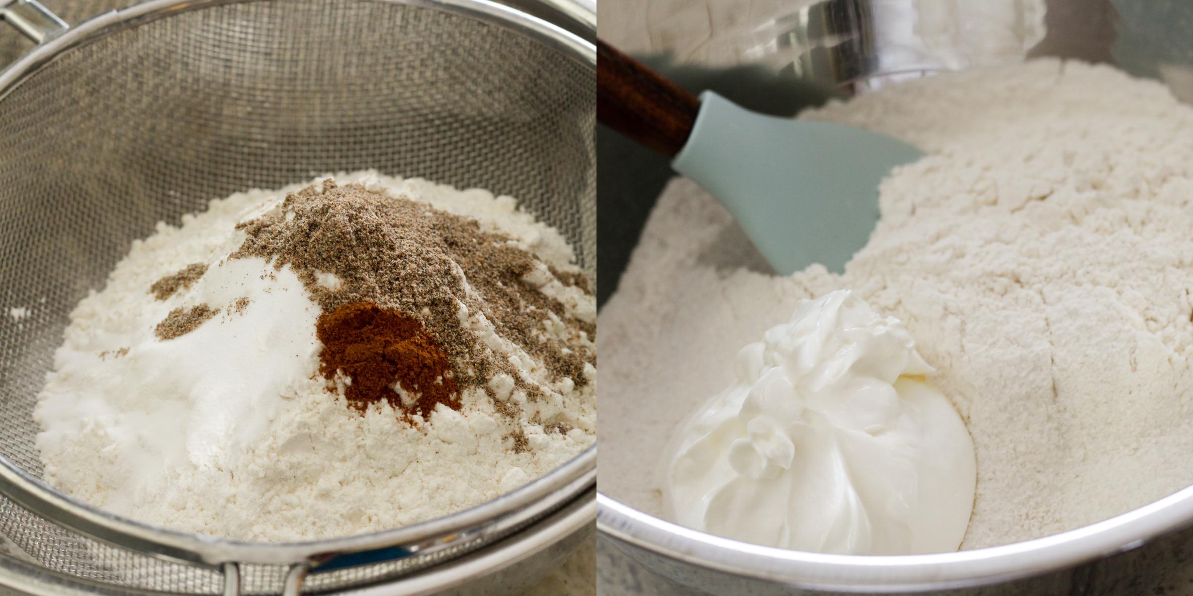 Chocolate Cardamom Sour Cream Cake